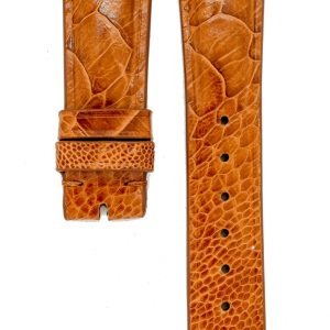 light-brown-minimal-ostrich-watchstrap