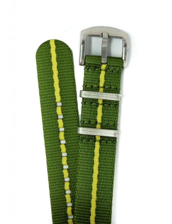 premium-nato-watch-strap-green-pinstripe